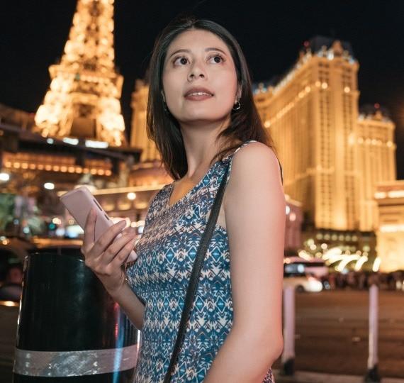Picking up Women in Las Vegas